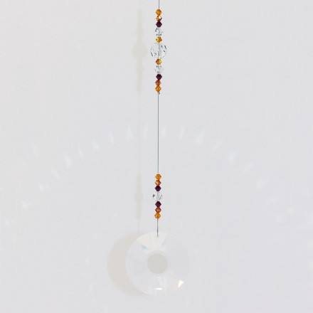Crystal Suncatcher Sonne 40 mm