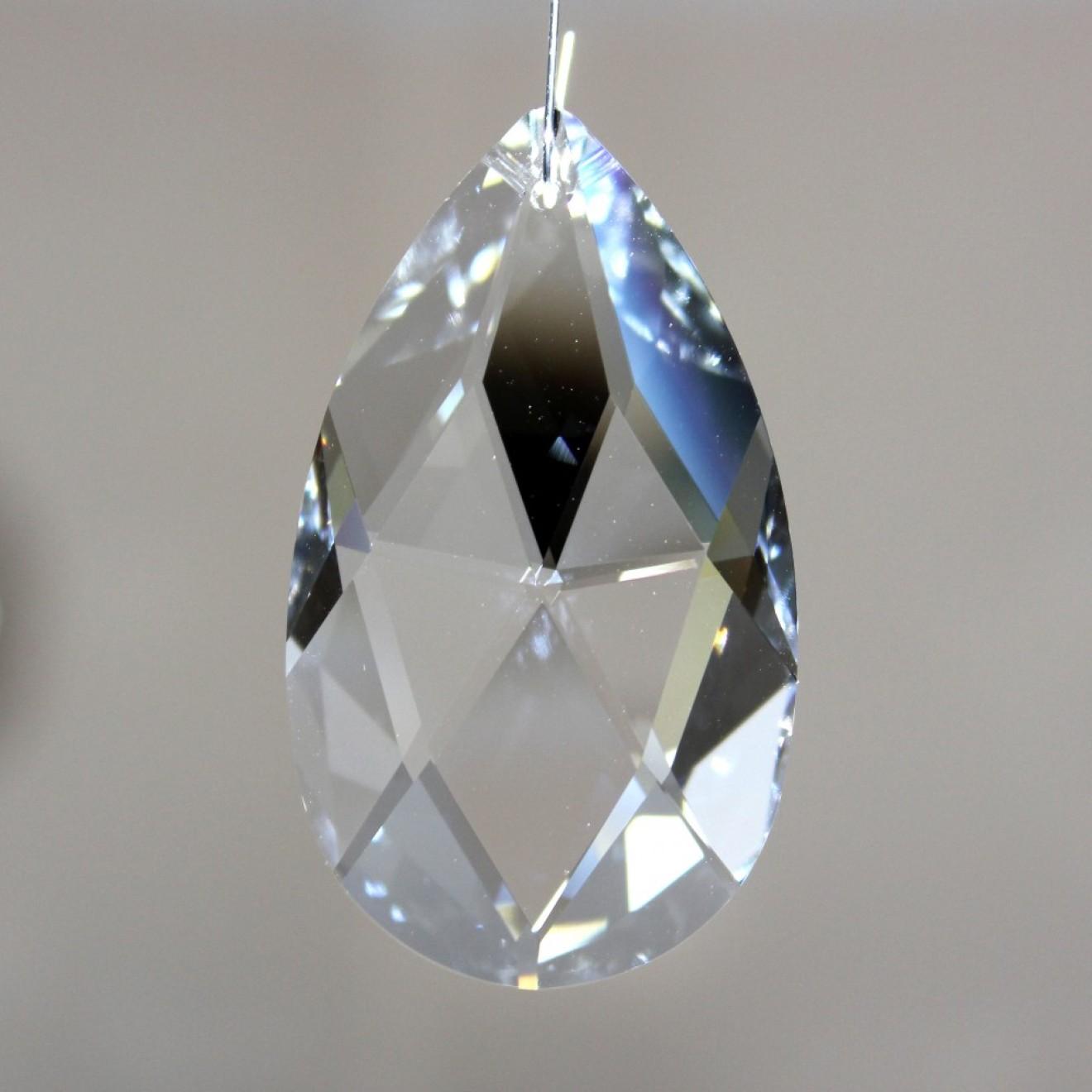 feng shui kristallglas tropfen 63 x 73 mm bleifrei. Black Bedroom Furniture Sets. Home Design Ideas