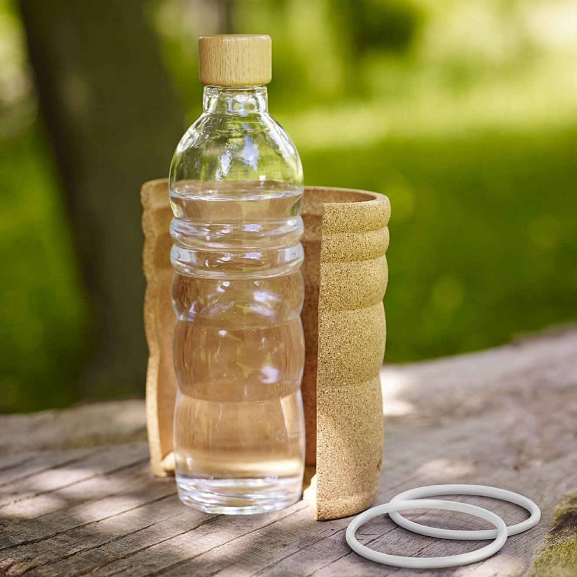 trinkflasche lagoena 0 5 l wasserflasche blume des lebens. Black Bedroom Furniture Sets. Home Design Ideas